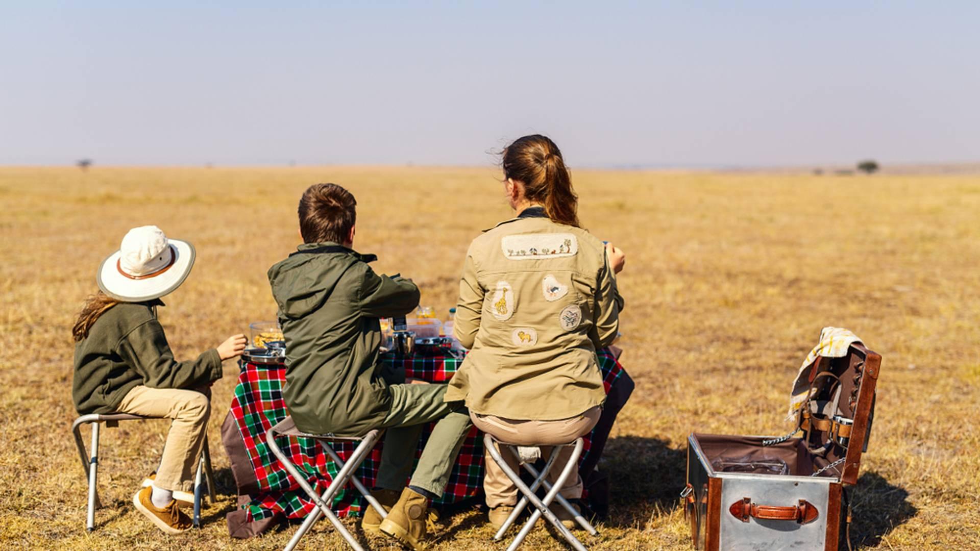 Safari bivouac en famille