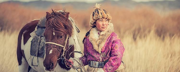 In die Haut eines Nomaden der Steppen schlüpfen