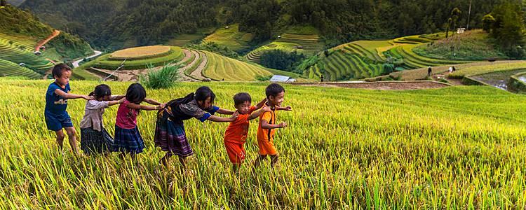 Descrubre Vietnam con los pequeños