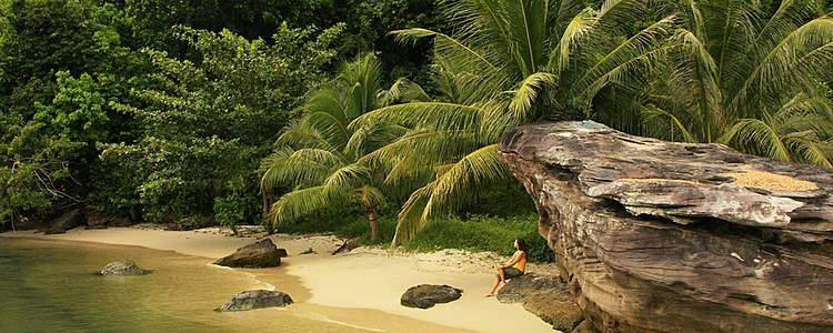 Tempel, Elefanten und Erholung am Strand