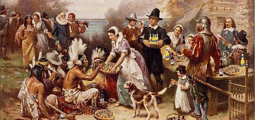 J.L.G. Ferris, el primer día de Acción de Gracias