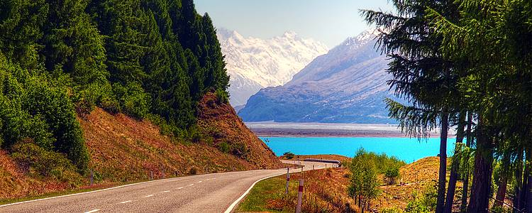 Road trip from Auckland to Queenstown