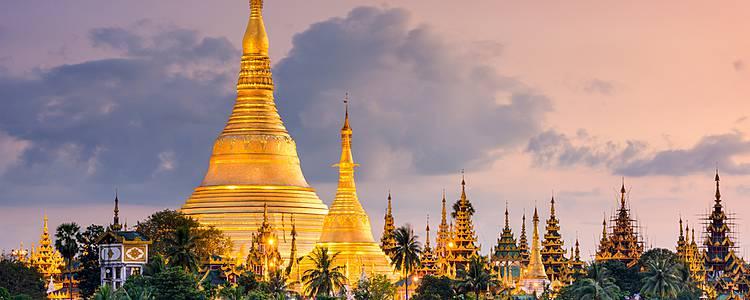Maravillas de Myanmar en pequeños grupos