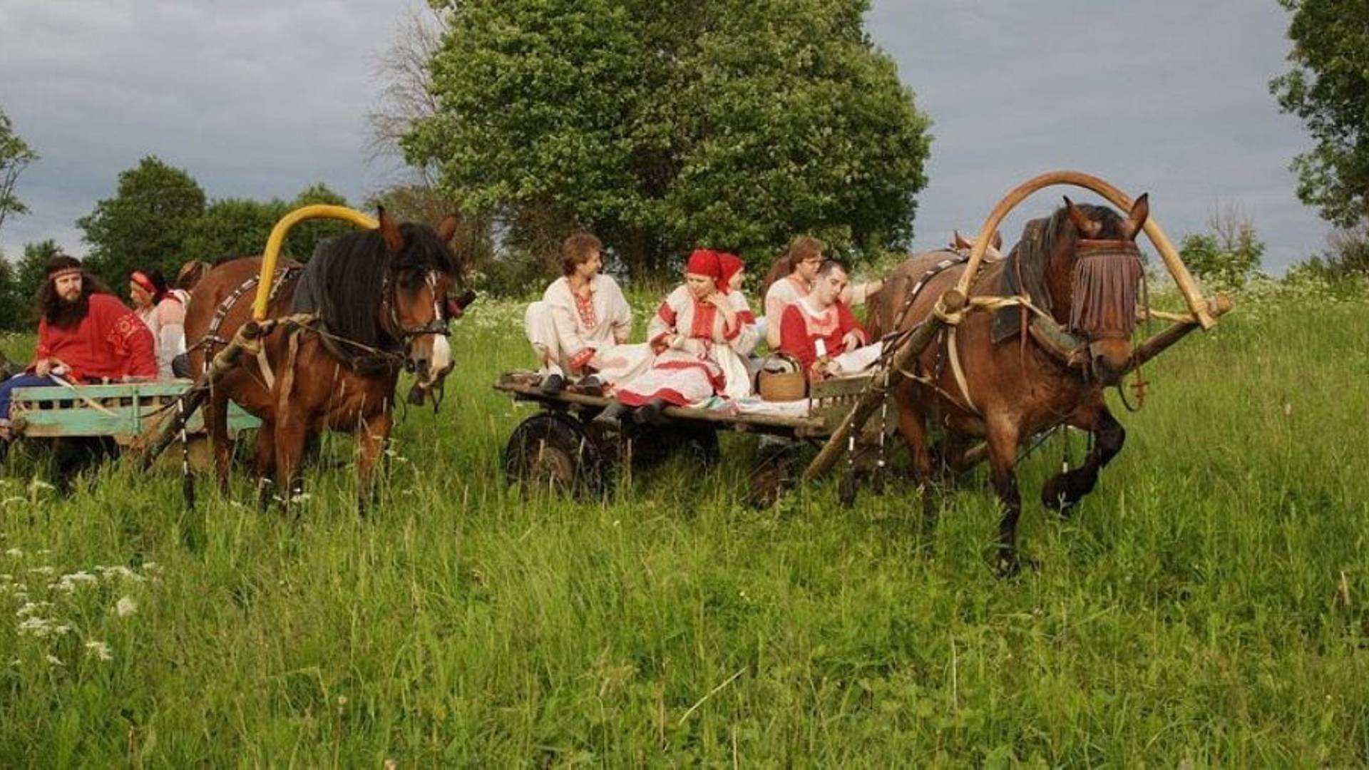 Familienreise mit Moskau und Ausflug aufs Land