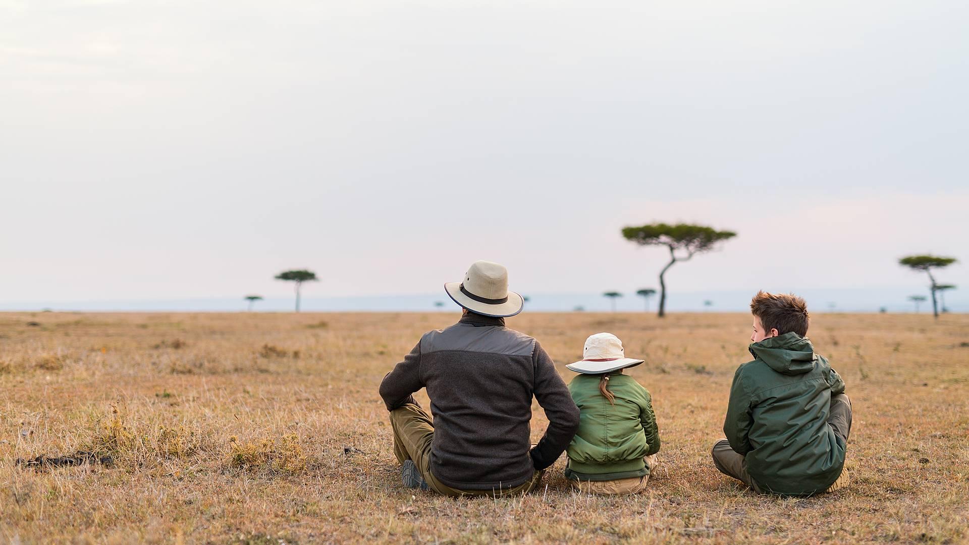 Familienabenteuer von Nairobi in die Natur