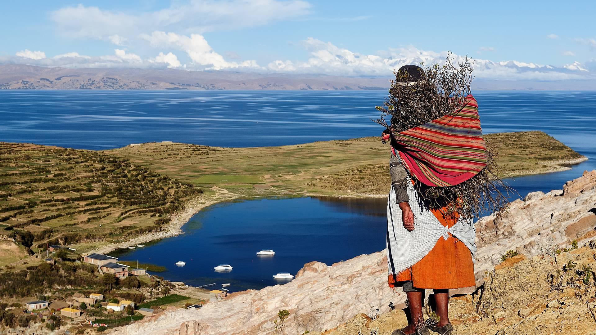 Bolivia de Ayer y Hoy