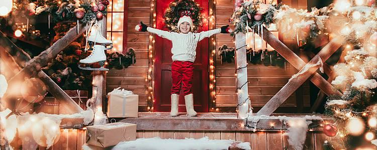 Encanto en Familia en la casa de Papá Noël
