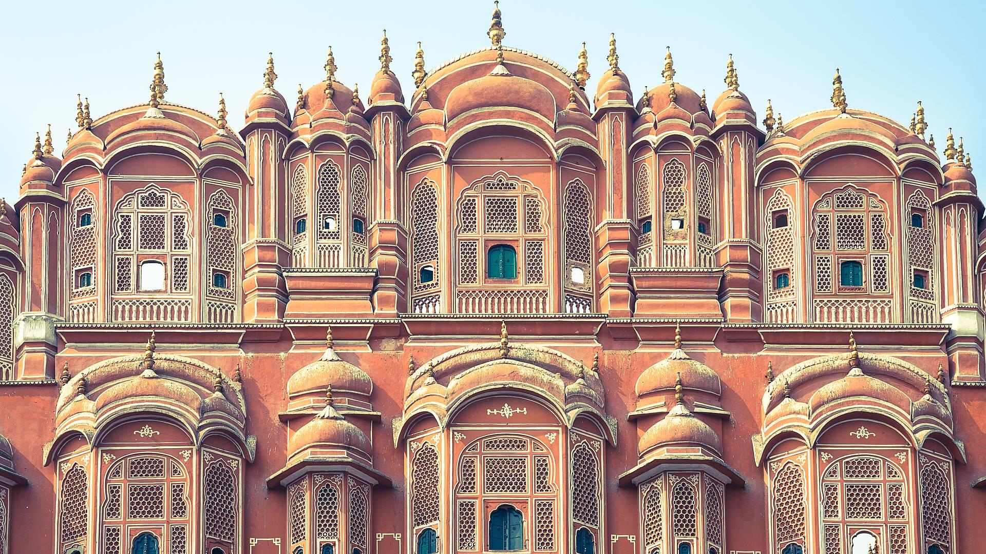 Taj Mahal et Rajasthan en havelis et hôtels de charme