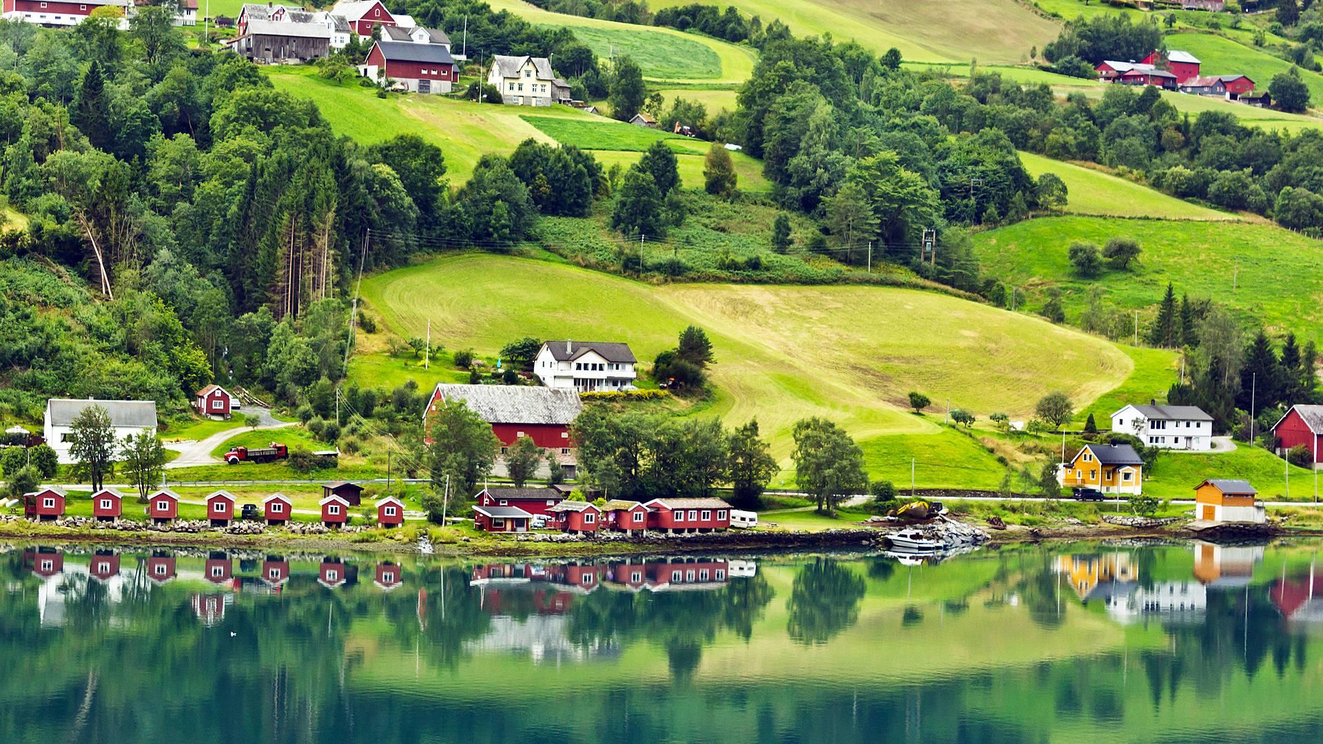 Mit Muβe entlang der Fjorde