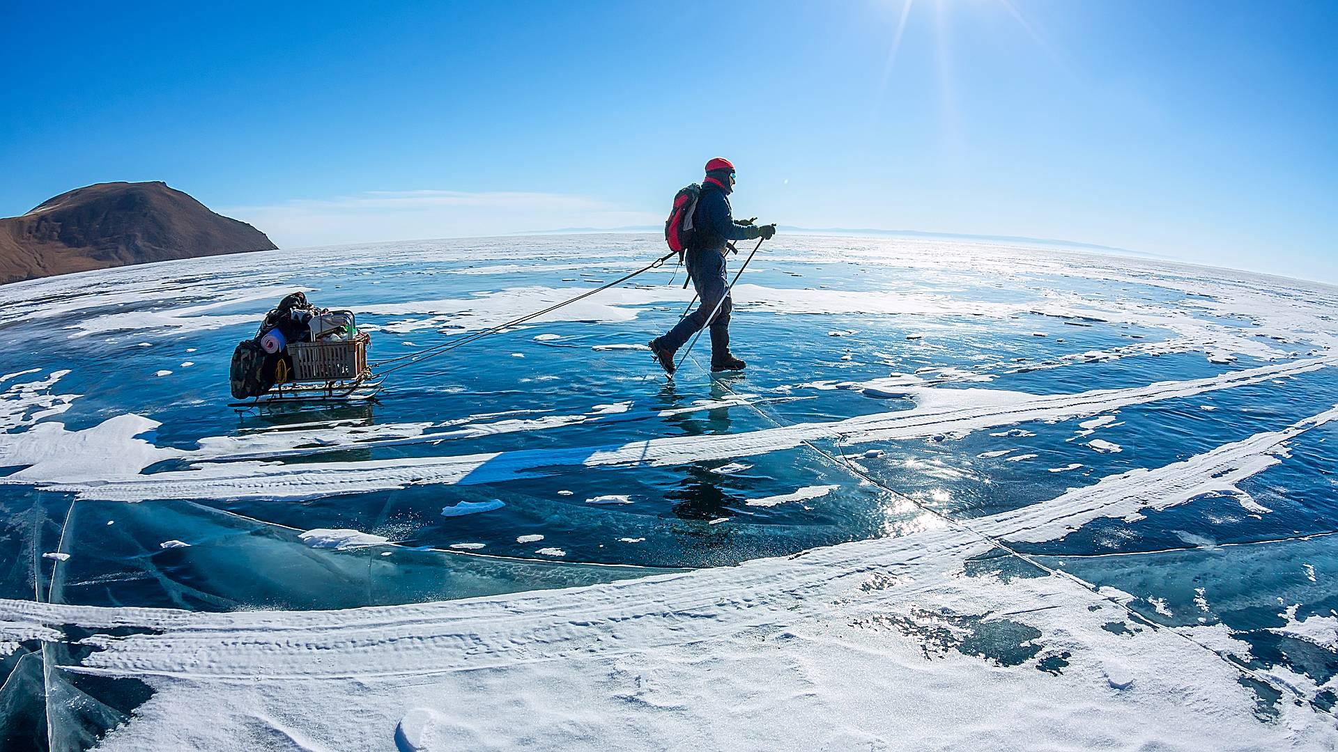 Aktiver Winterurlaub von Moskau zum Baikal See