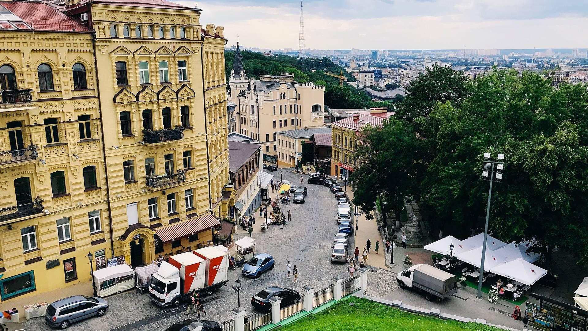 Voyage à Kiev