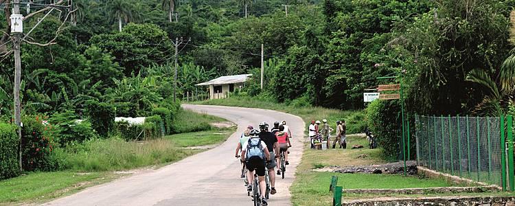 Gruppenreise ,,Cuba Cycling''