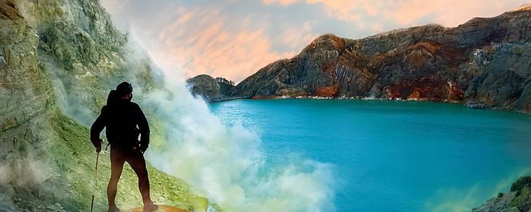 Vulkanexpedition auf Java und Bali