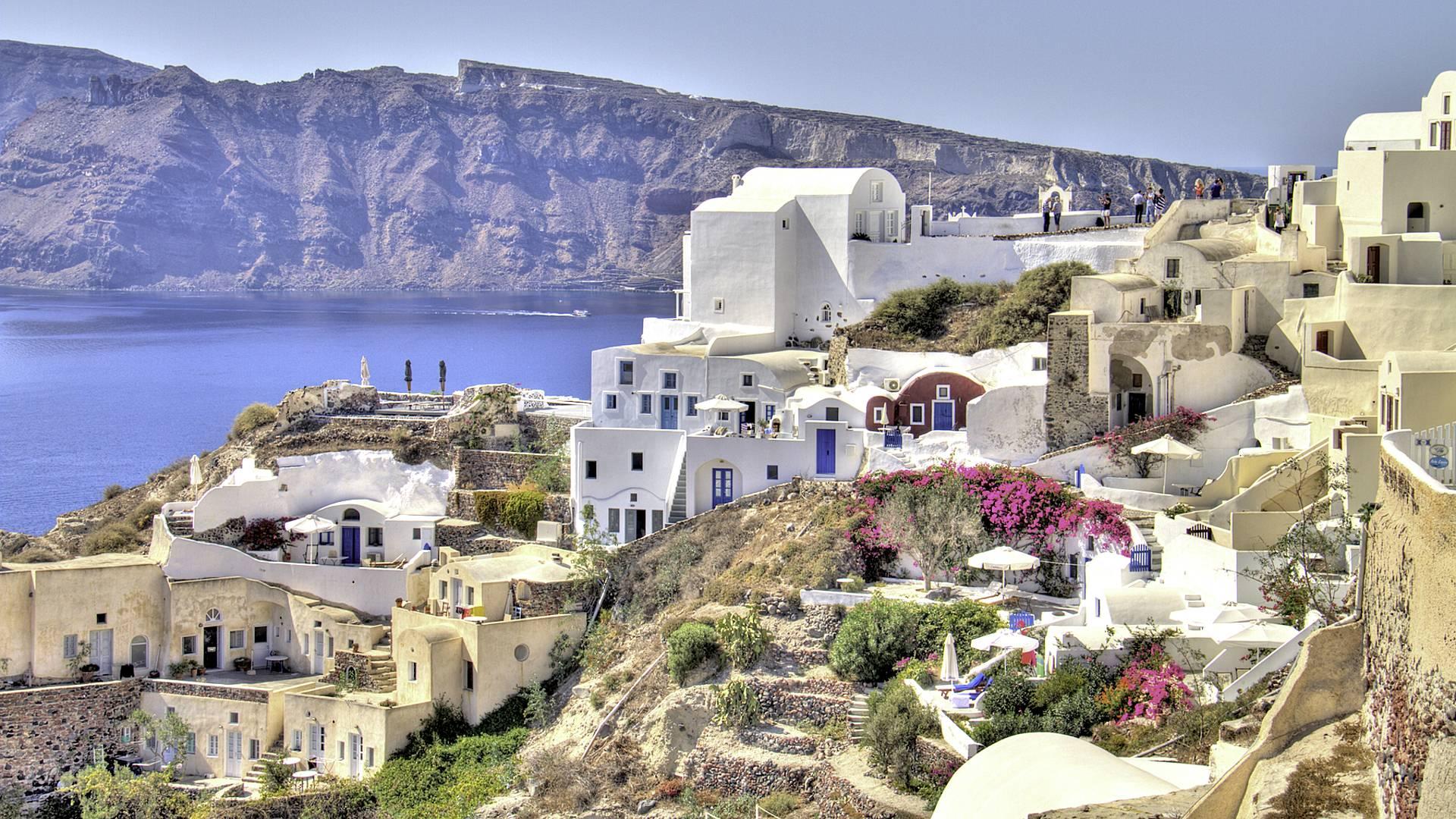 Santorin/Paros : Sable noir et sable d'or