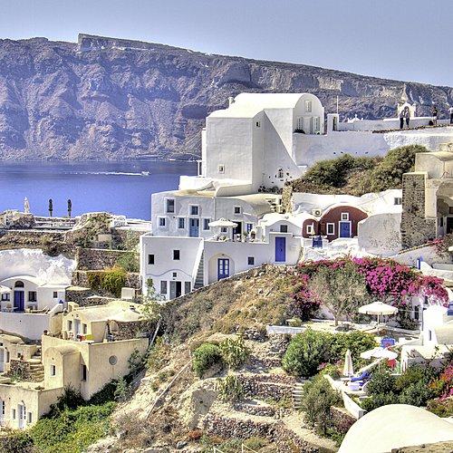 Santorin/Paros : Sable noir et sable d'or -