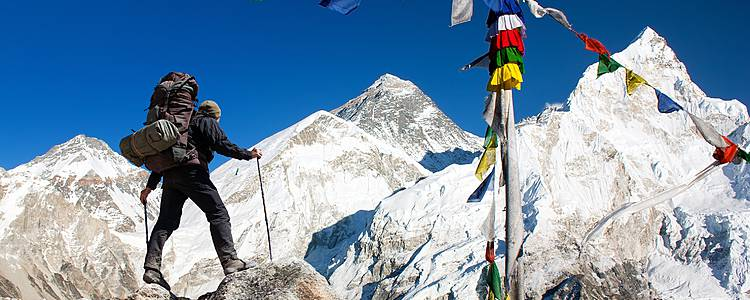 Trekking por el Everest