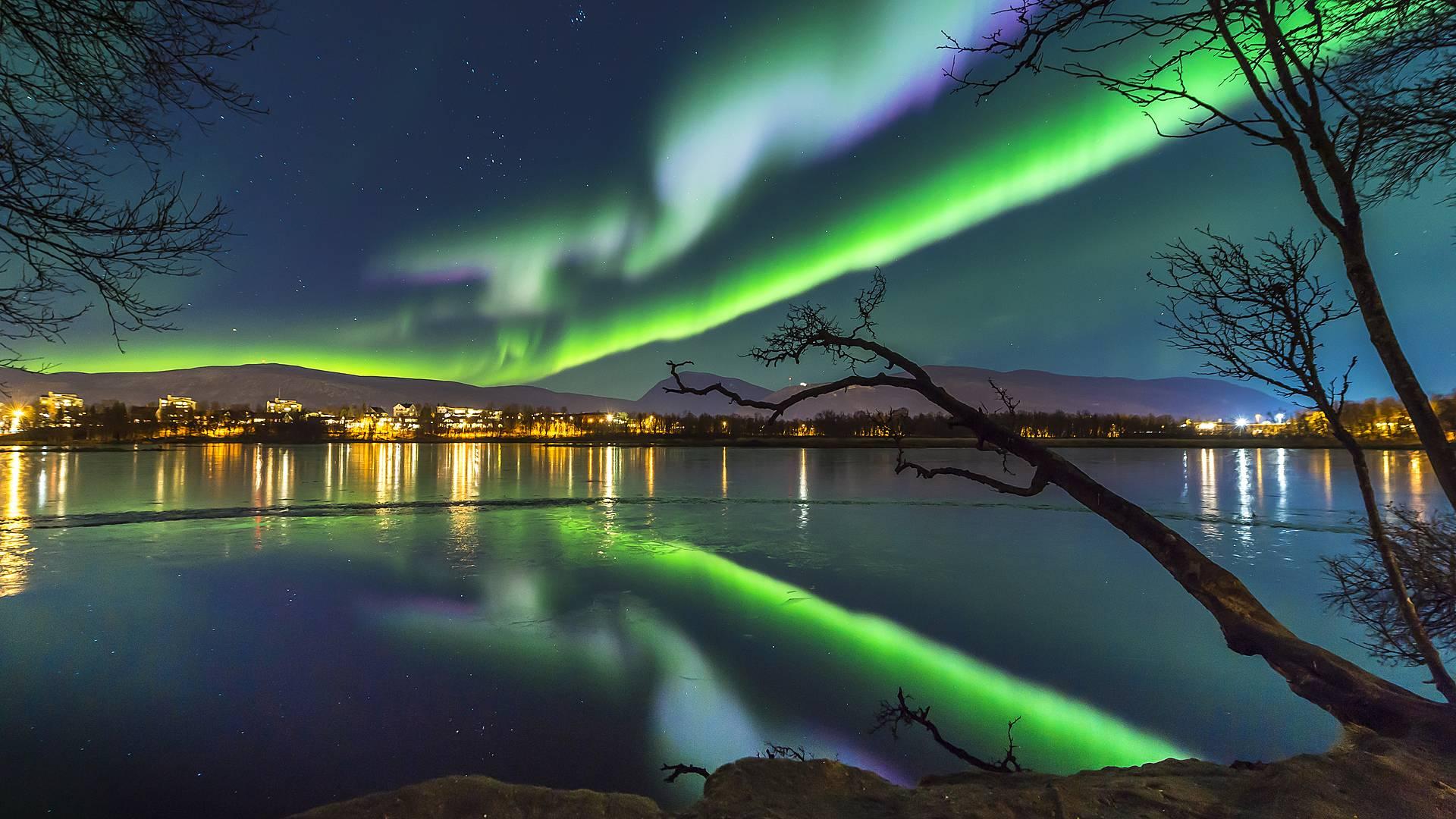 Enfocando la Aurora Boreal en Tromsø