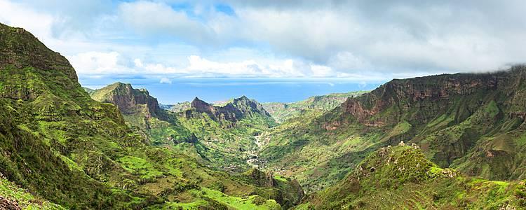 Trois îles Santiago, Santo Antâo et Boavista