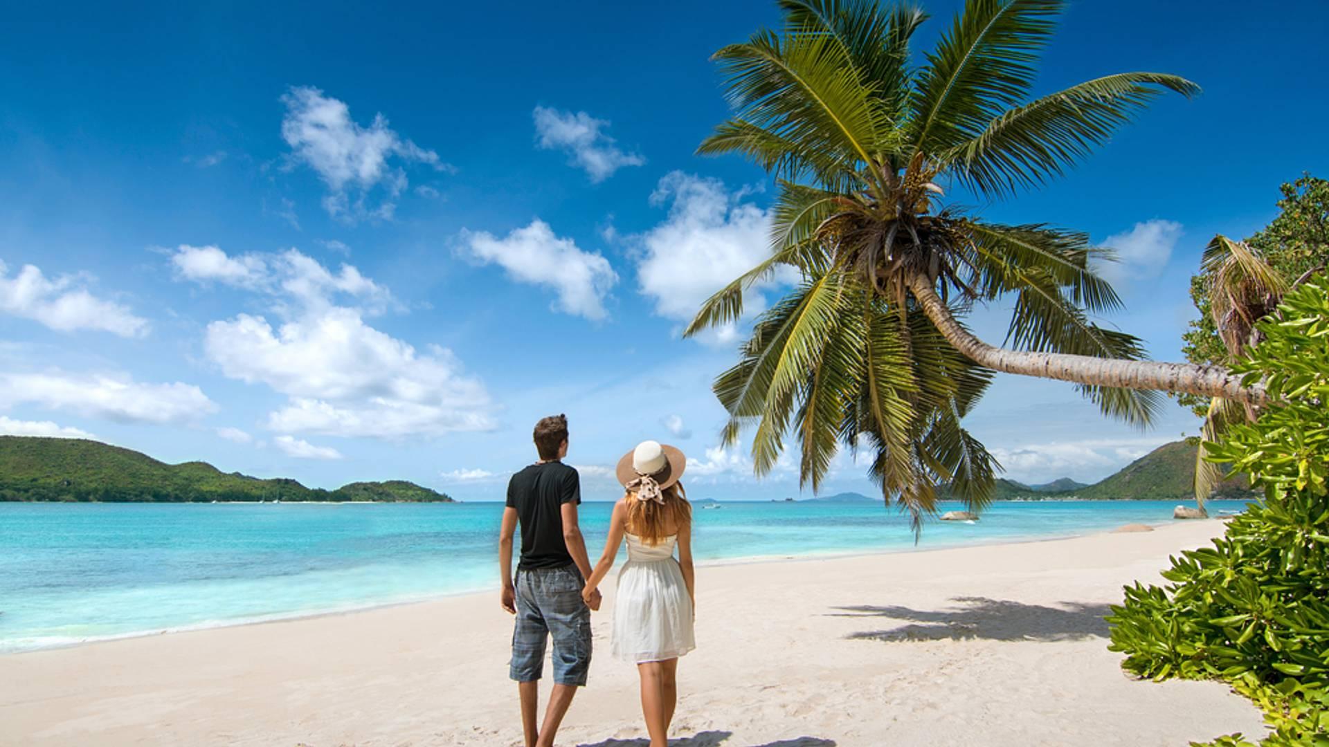 Traumhafte Flitterwochen im Paradies
