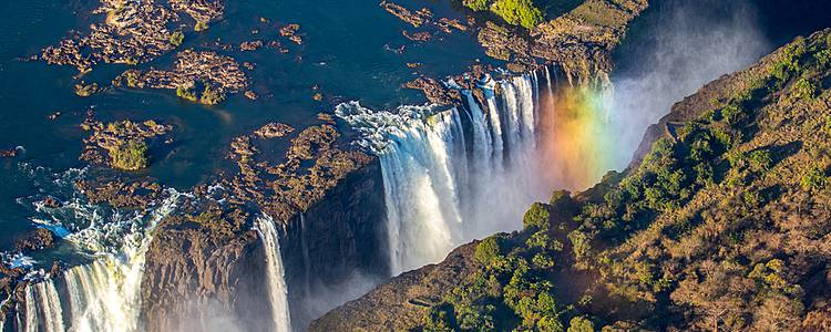 Selbstfahrer-Highlights und Victoria Falls
