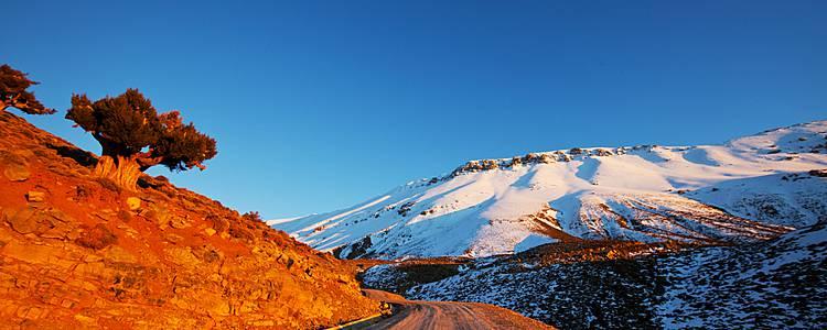 Trekking por el Alto Atlas y el Toubkal