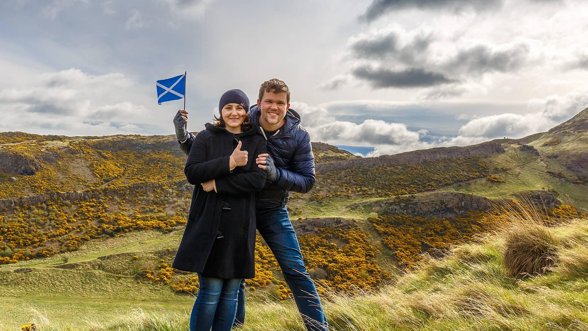 Escapada romántica en coche por St Andrews y el Castillo de Stirling