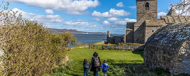 Edimburgo y Lago Ness en familia y sobre ruedas