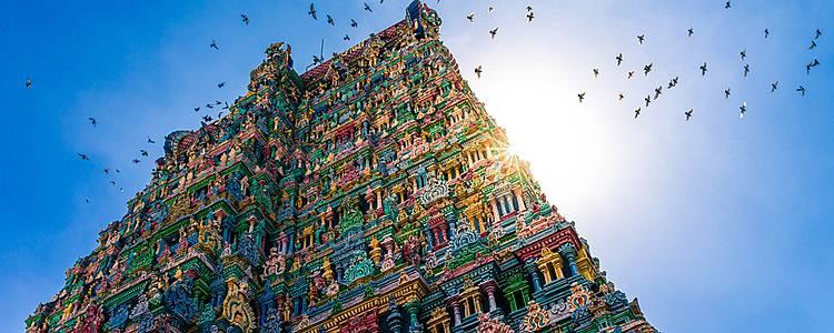 Grand tour de l'Inde du Sud
