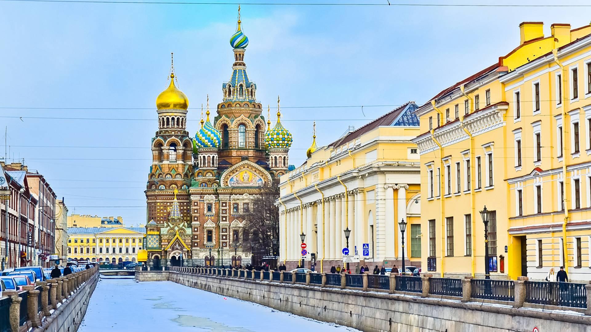 Saint-Pétersbourg, en petit groupe