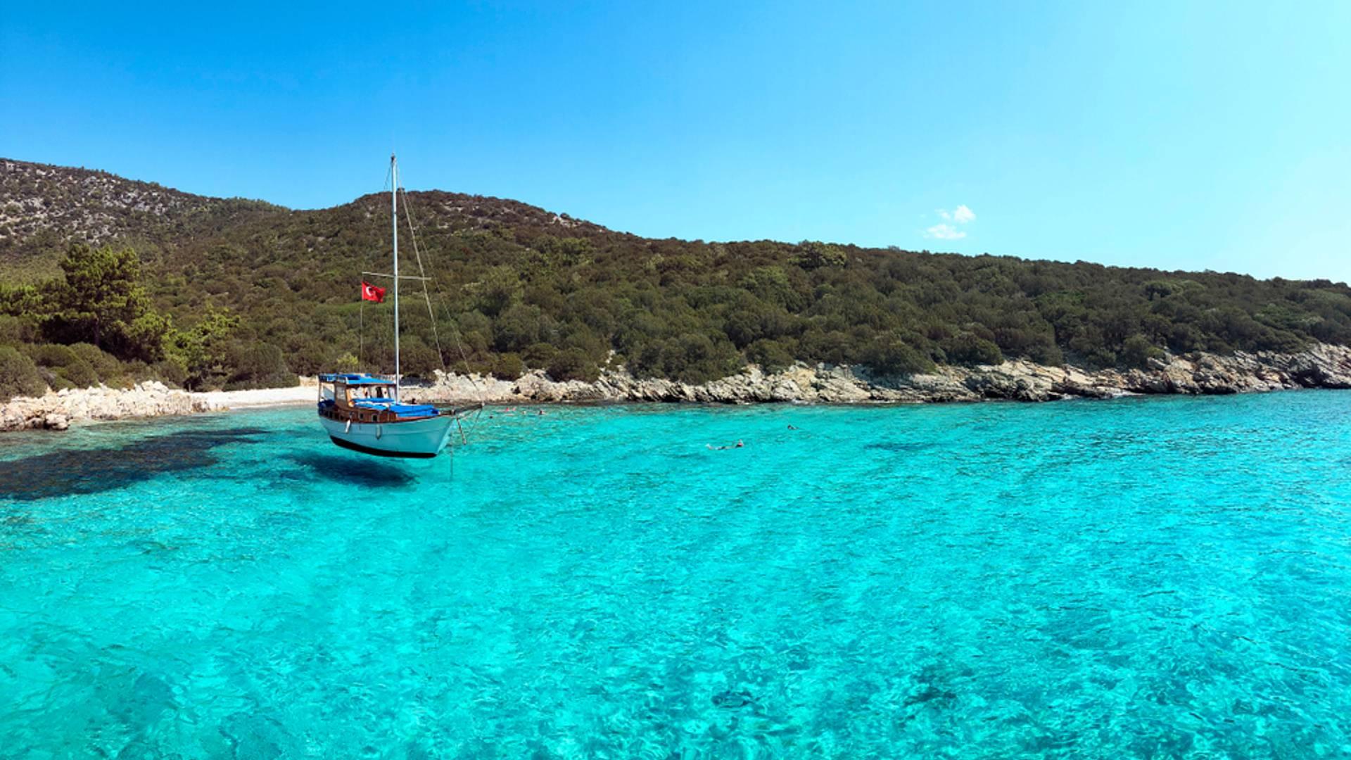 Croisière bleue en Méditerranée