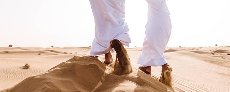 Mit der Familie zwischen Stränden und Wüsten