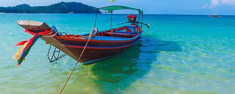 Inselhüpfen im Golf von Siam