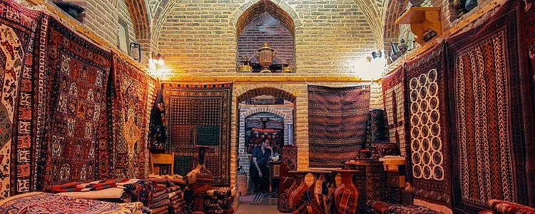 Entdeckung der persischen Teppichkunst