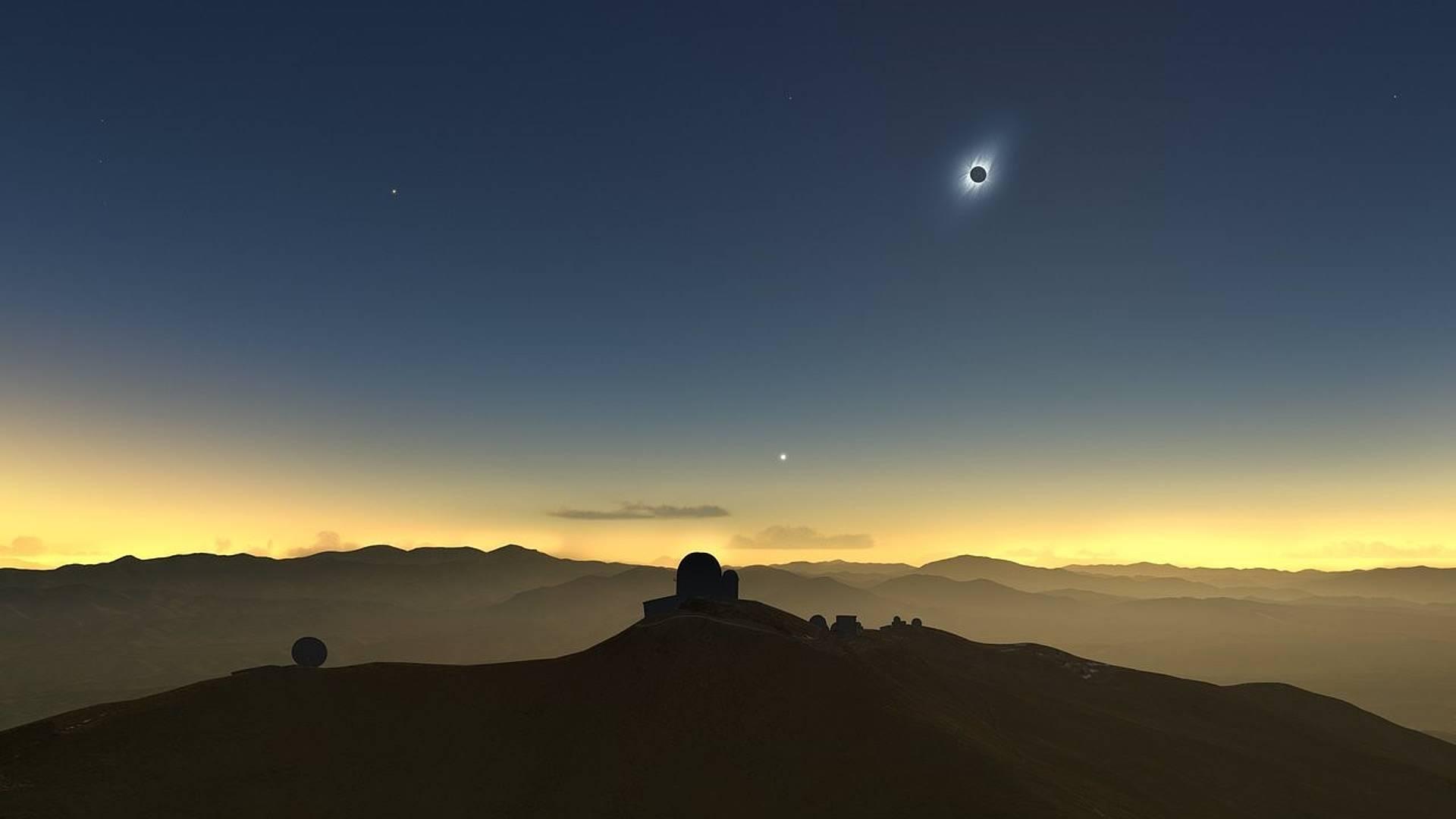 L'eclissi solare 2020 nel sud del paese