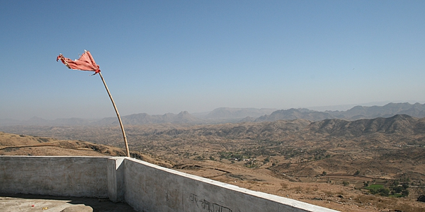 The Rajasthani countryside