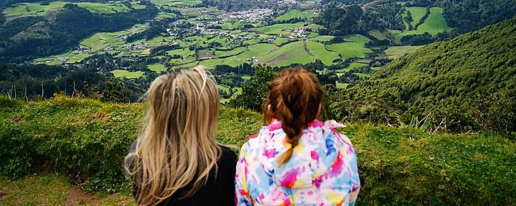 Familienurlaub auf den Azoren
