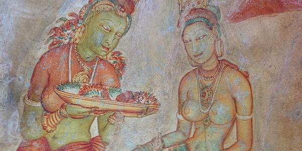 Los asparas de Sigiriya