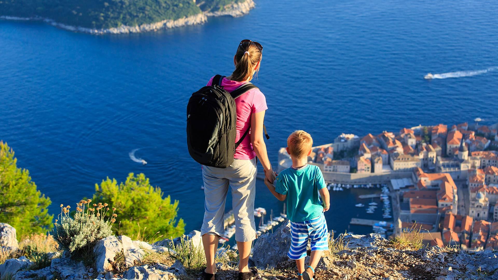 Las islas y Dubrovnik en familia