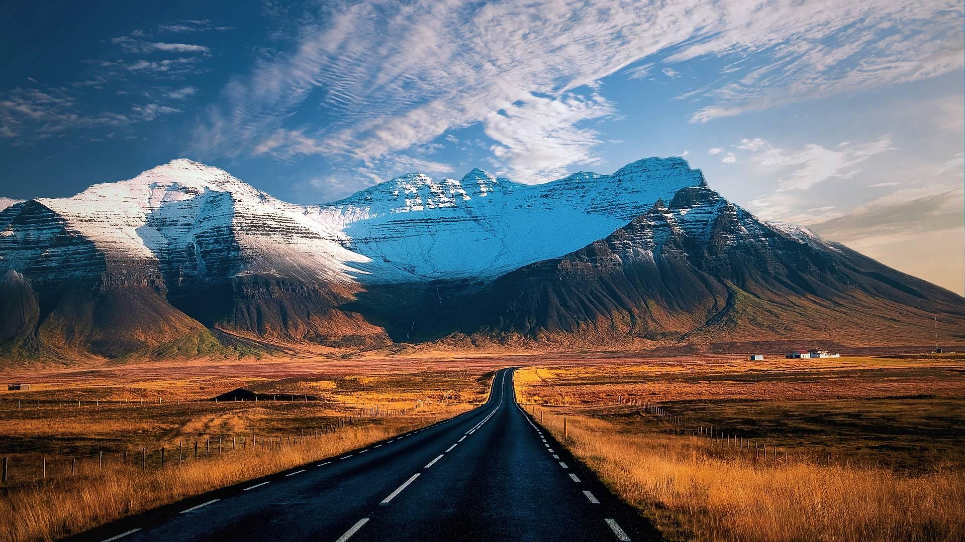 Klassische Route entlang der Ringstraße und Westfjorde