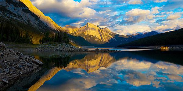 El lago Medicine