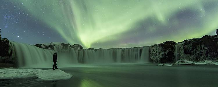 Auroras Boreales en Navidad o Fin de Año