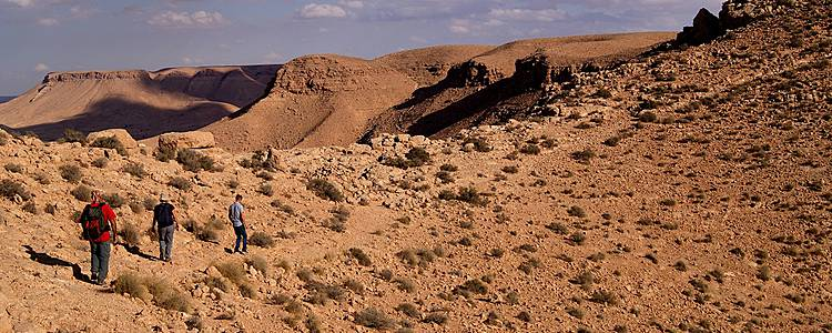 Trek dans le massif du Dahar