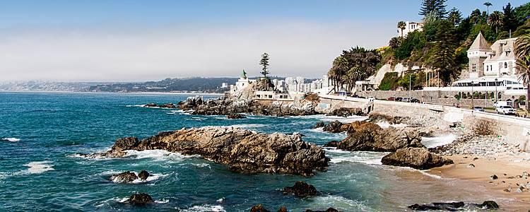 Chile de Norte a Sur con Isla de Pascua
