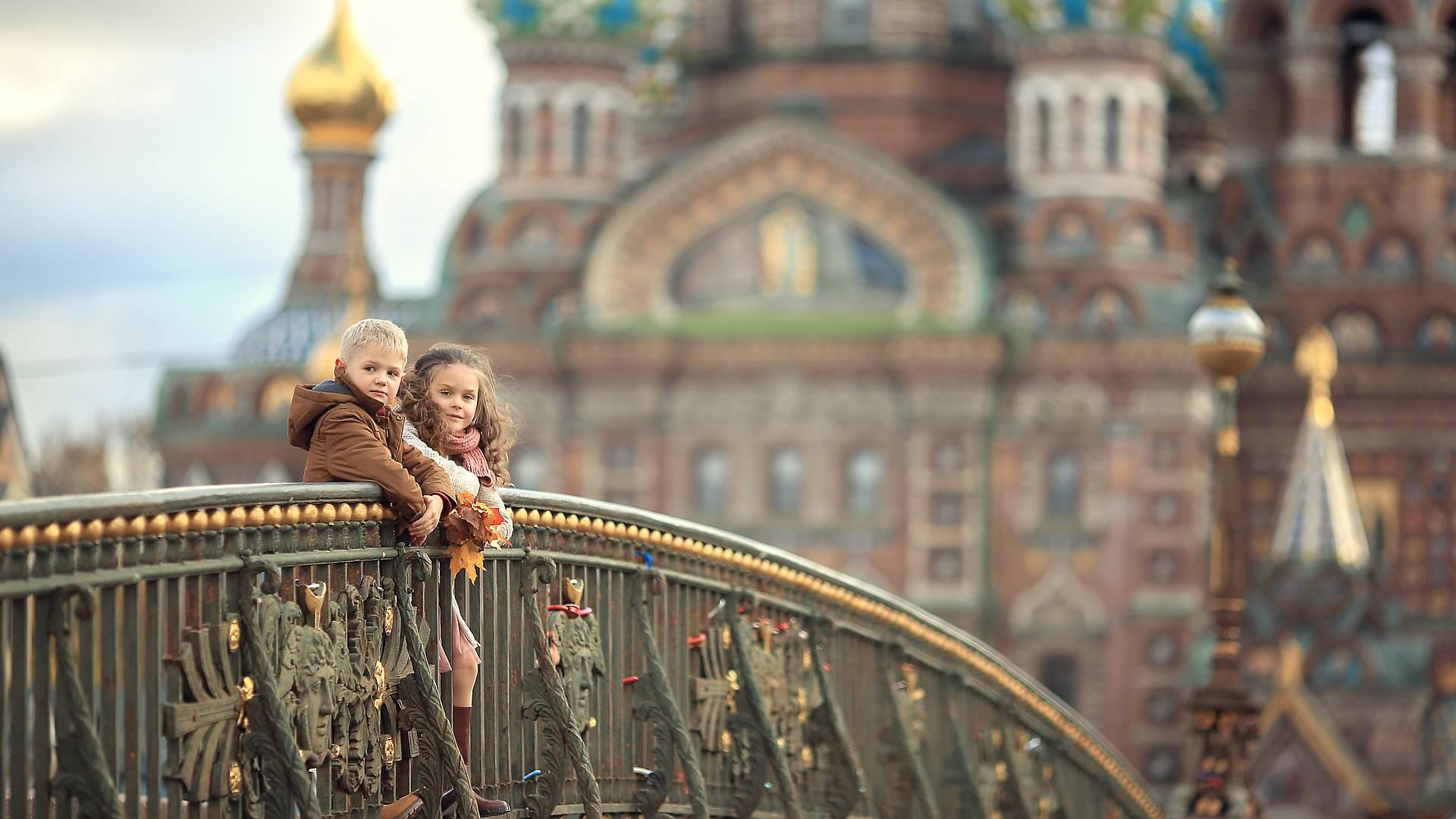 Moscú y San Petersburgo para toda la familia