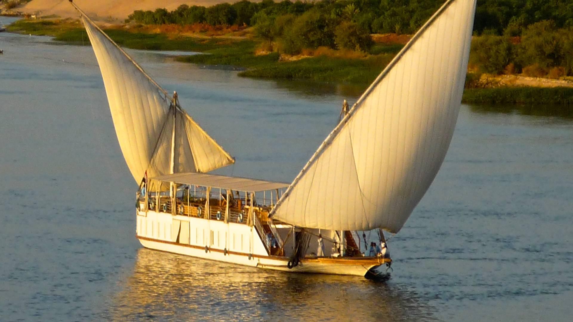 Croisière à voile en Dahabeya ou Sandal (Le Caire et Assouan)