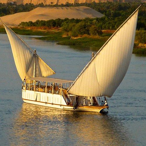 Croisière à voile en Dahabeya ou Sandal (Caire et Assouan) -