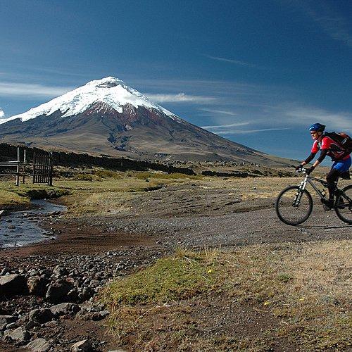 VTT dans les Andes - Quito -