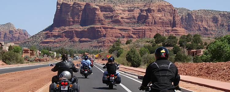 Road trip in moto per il Gran Ovest Americano