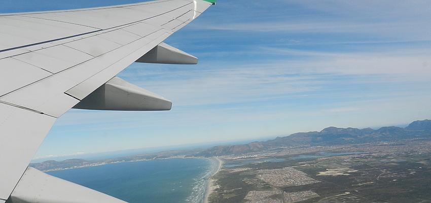 El avión para las largas distancias