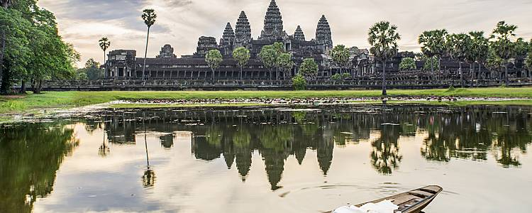 Inolvidable vuelta al lago de Camboya